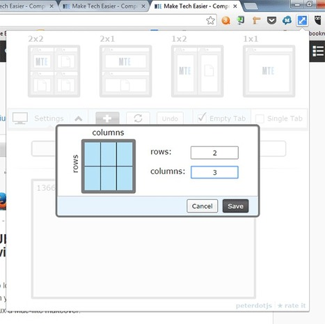How To Split Screens In Chrome With The New Tab Resize | Time to Learn | Scoop.it