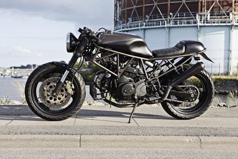 Ducati 750 SS =Danish Dark= // by Wrenchmonkees | Vintage Motorbikes | Scoop.it
