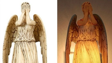 A Weeping Angel Night Light Is The Ultimate Way Of Petrifying Your Kids | Strange days indeed... | Scoop.it
