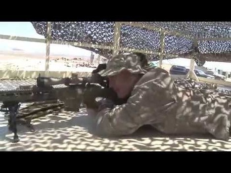 Military Videos of the World - Oregon Soldiers from the 182 Cavalry Train on the 50 CAL and M107 Sniper Rifle   Military Videos   Scoop.it