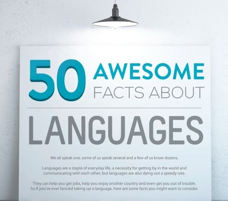 50 Fun Facts About World Languages - Language Mastery | Translations corner | Scoop.it