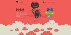 20 web design avec des animations et interactions en parallaxe ... | Design | Scoop.it