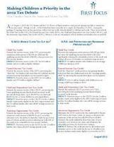 Making Children a Priority in the 2012 Tax Debate | First Focus | REAL World Wellness | Scoop.it