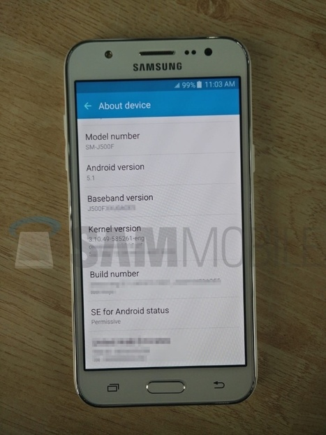 New Samsung Galaxy J5 images confirm design | Samsung mobile | Scoop.it