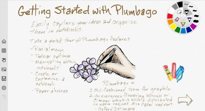 Edu-Curator: Plumbago: nieuwe app van Microsoft om te gebruiken op je digibord...   Edu-Curator   Scoop.it