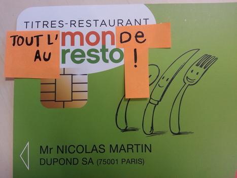 Le ticket restaurant devient électronique   Moneo Resto 1ère carte Titres-Restaurant   Scoop.it