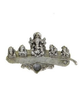 Fortunate Five Ganesh On A Leaf with dia | Online Shopping | Scoop.it