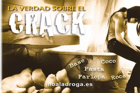 Página web oficial de la Fundación por un Mundo sin Drogas, abuso del crack, efectos del crack | Drogas | Scoop.it