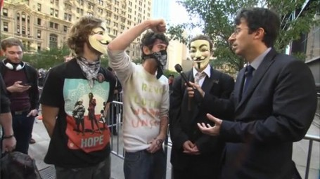 Daily Show's John Oliver asks protesters, 'Am I the man?' | #OccupyWallstreet | Scoop.it