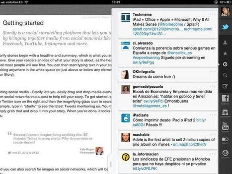 Storify, un compositor de historias sacadas de las redes sociales - RTVE.es | Content Curator Tools | Scoop.it