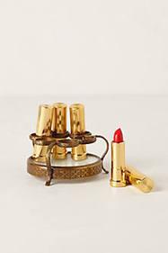 Porte-rouge à lèvres rond Vestige | GirlyGlamHome | Scoop.it