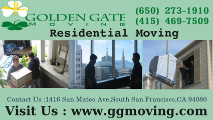 Relocate Your Stuff With Golden Gate Movers | Golden Gate Moving Services | Scoop.it