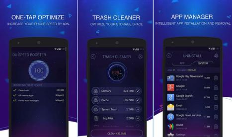 Limpia y optimiza tu móvil Android con Du Speed Booster | SocialEduca | Scoop.it