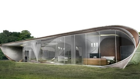 "Curve Appeal to be ""world's first"" 3D-printed freeform house 