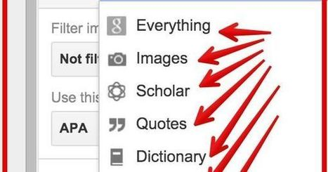 4 Important Google Docs' Features for Student Researchers ~ Educational Technology and Mobile Learning | media350 media and technology for teachers | Scoop.it