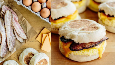 Make These Freezer-Friendly Breakfast Sandwiches for an Easy Start to the Workday | Bazaar | Scoop.it