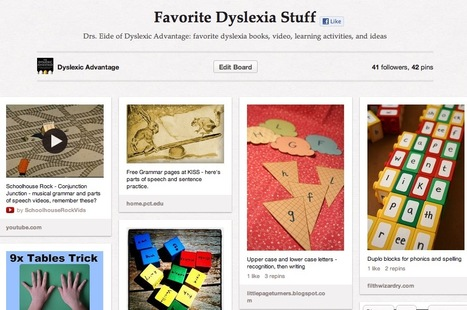 Favorite Dyslexia Stuff on Pinterest | Pubers, Dyslexie en Social Media | Scoop.it