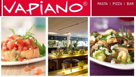 VAPIANO GERLAND | Lyon-sortie | Scoop.it