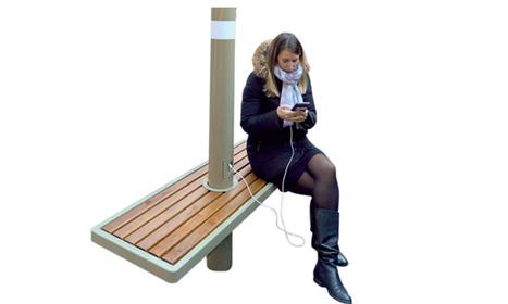 Le mobilier urbain mise sur l'interactivité Homme-Objet | E-media, the Econocom blog | Aménagement des espaces de vie | Scoop.it