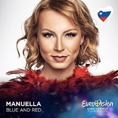 Eurovision 2016: Review: Slovenia: ManuElla: Blue & Red | The Eurovision Song Contest | Scoop.it