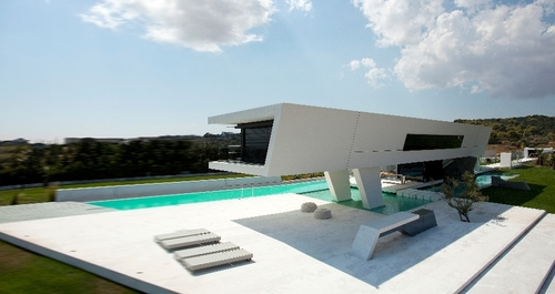 Incroyable Maison Contemporaine  H Par  Architecture  Athnes