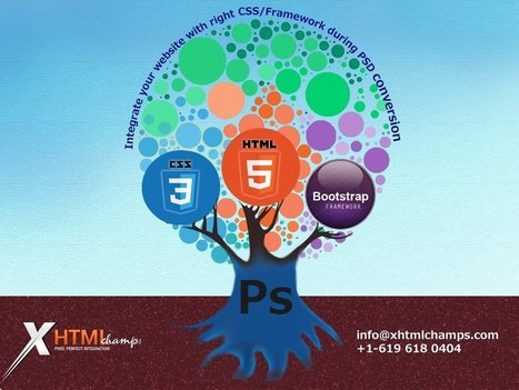 Integrate your website with the right CSS/framework during PSD Conversion | xhtmlchamps blog | Web Design and Development | Scoop.it