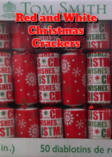 Red and White Christmas Crackers | Stuff I Like | Scoop.it
