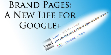 Have Brand Pages given Google+ New Life? | GooglePlus Expertise | Scoop.it