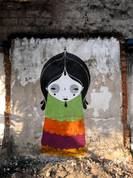 Rodrigo Level | painter | street-artist | les Artistes du Web | Scoop.it