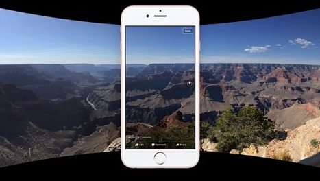 Facebook supporte maintenant les photos à 360° | Presse-Citron | e-Veille : Social Media, Marketing, NTIC ... | Scoop.it