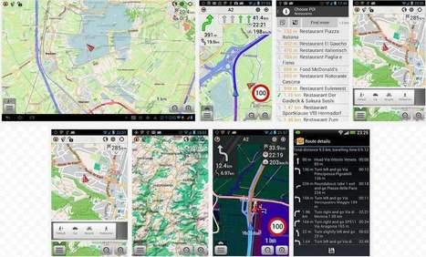 Cartographie et navigation hors ligne pour Android, OsmAnd | Les Infos de Ballajack | netnavig | Scoop.it