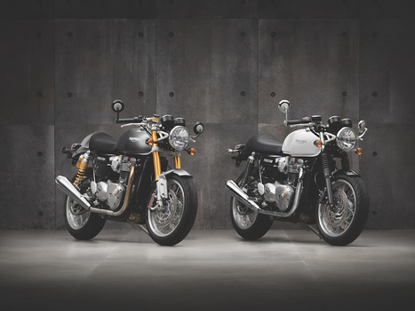 The new Triumph Thruxton and Thruxton R | Motorcycle Industry News | Scoop.it