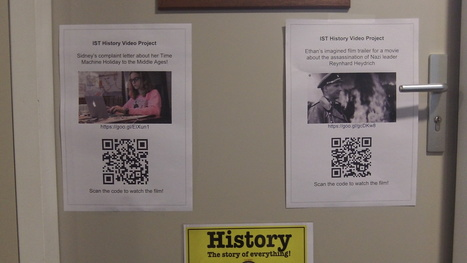 Share (and track!) student video projects with QR codes | BEST STUFF | Scoop.it