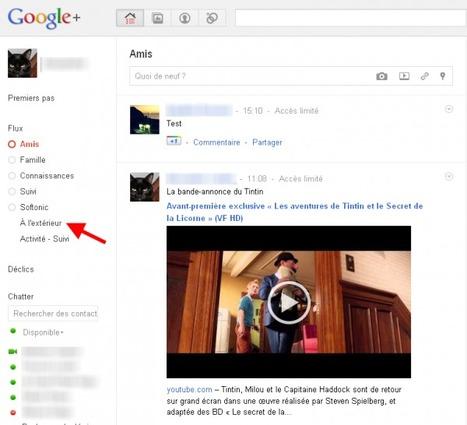 Google+, comment bien régler ses paramètres de confidentialité   Onsoftware   Adopter Google+   Scoop.it