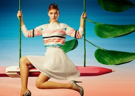 Barbara Palvin GETS COLORFUL FOR LILY CHINA | My Fabulous Style | FASHION LILY SS14 - BARBARA PALVIN CAMPAIGN BY FRED & FARID SHANGHAI | Scoop.it