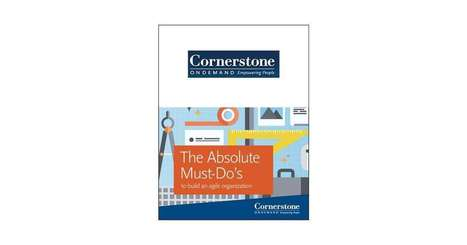 The Absolute Must-Do's to Build an Agile Organization, Free Cornerstone OnDemand, Inc. Brief | Career | Scoop.it