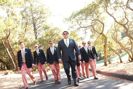 Groomsmen: Colored Pants | Personalized Gifts | Scoop.it