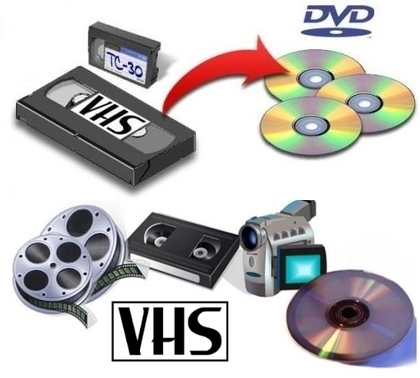 Come convertire VHS in DVD | drogbaster | Scoop.it