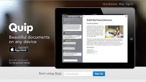 Quip: collaborative and beautiful documents using any device | Create, Innovate & Evaluate in Higher Education | Scoop.it