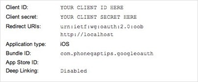 PhoneGap Tips - Google API OAuth with PhoneGap's InAppBrowser | html5, webapp, mobility,ibooks | Scoop.it