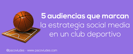 5 audiencias tipo en el social media marketing de un club deportivo | Social Media | Scoop.it