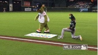 Coco Crisp Wants No Part Of Playing Twister With Astros Mascot (Video) - NESN.com | Mascots in the news | Scoop.it
