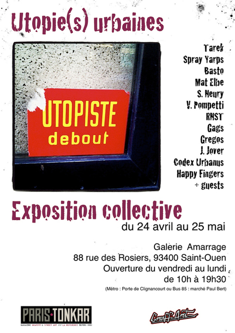 Exposition Utopie(s) Urbaines | The art of Tarek | Scoop.it