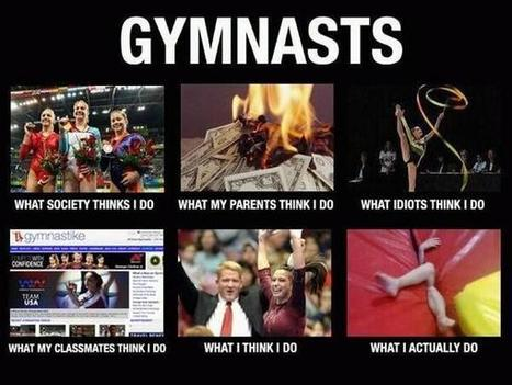 Gymnasts | What I really do | Scoop.it