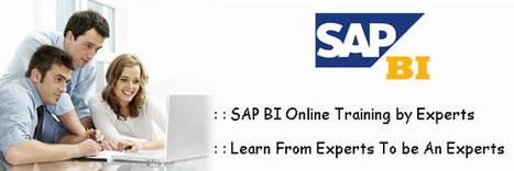 Get Yourself Enrolled for the Efficient SAP BI Course by XL Tutors   Sap Online Training, SAP HANA Online Training, Oracle SOA   Scoop.it