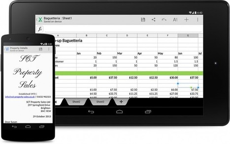 Google contra Microsoft Office: Quickoffice nativo en Android 4.4 KitKat | Marca Tecnológica | Scoop.it