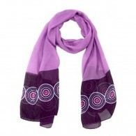 Neck Scarves | Ladies Scarves | Purple Scarf | scarfuniverse | Scoop.it