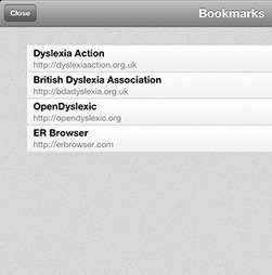 ER Browser - The Mobile Web Browser for Dyslexia & Visual Stress | tech info for special needs | Scoop.it