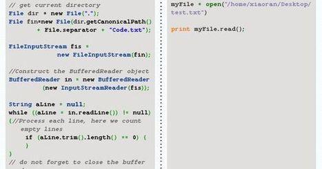 Java Vs. Python- Which Programming Language is More Productive?   Bazaar   Scoop.it