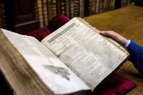 Rare copy of Shakespeare's First Folio found in France | Theatre and Books | Scoop.it